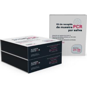 Pack de 3 – Test PCR por saliva de coronavirus